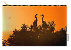 Kissing Herons  Carry-all Pouch