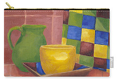 Carry-all Pouch featuring the painting Kitchen Corner by Patricia Cleasby