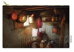 Carry-all Pouch featuring the photograph Kitchen - Homesteading Life by Mike Savad