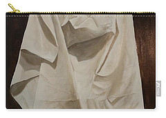 Painting Alla Rembrandt - Minimalist Still Life Study Carry-all Pouch