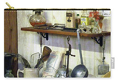 Kitchen With Wire Basket Of Eggs Carry-all Pouch by Susan Savad