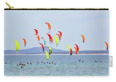 Kite Boarding At La Ventana Carry-all Pouch