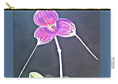 Kite Orchid Carry-all Pouch by Francine Heykoop