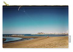 Kitesurf On The Beach Carry-all Pouch