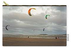 Kitesurfing On Revere Beach Carry-all Pouch