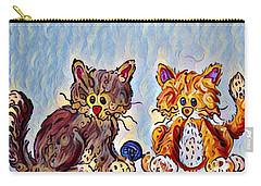 Kitt Cuties Carry-all Pouch by Megan Walsh