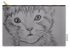 Kitten Carry-all Pouch by Brindha Naveen