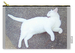 Kitty Ballet Carry-all Pouch by Denise Fulmer