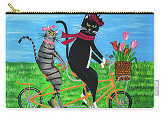 Kitty Cat Outing Carry-all Pouch