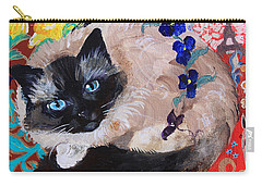 Kitty Goes To Paris Carry-all Pouch