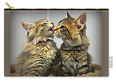 Kitty Kisses Carry-all Pouch