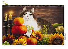 Kitty's Harvest Carry-all Pouch