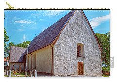 Carry-all Pouch featuring the photograph Kjaerrbo Church  by Leif Sohlman