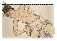 Kneider Weiblicher Halbakt Carry-all Pouch