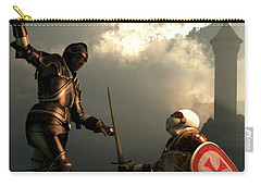 Knight Fight Carry-all Pouch