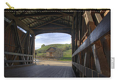 Knights Ferry Covered Bridge Carry-all Pouch