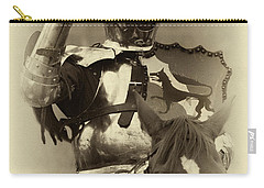 Carry-all Pouch featuring the photograph Knights Of Old 16 by Bob Christopher