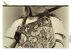 Carry-all Pouch featuring the photograph Knights Of Old 17 by Bob Christopher