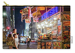 Carry-all Pouch featuring the photograph Knish, New York City  -17831-17832-sq by John Bald