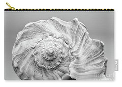 Carry-all Pouch featuring the photograph Knobbed Whelk by Benanne Stiens