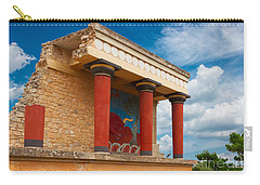 Knossos Palace At Crete, Greece Carry-all Pouch