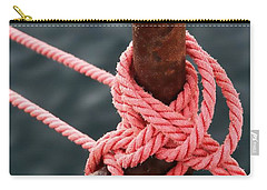 Knot On My Warf IIi Carry-all Pouch by Stephen Mitchell