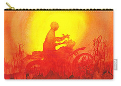 Koala Lumpur Sunset Carry-all Pouch by Donna Walsh