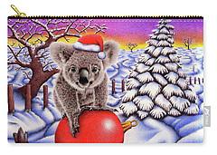 Koala On Christmas Ball Carry-all Pouch