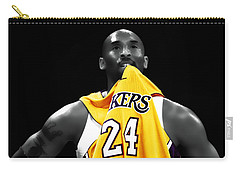 Kobe Bryant 04c Carry-all Pouch by Brian Reaves