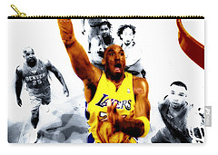 Kobe Bryant Took Flight Carry-all Pouch by Brian Reaves