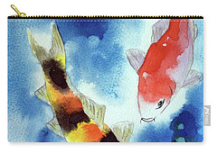 Koi Fish 4 Carry-all Pouch