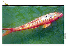 Koi Fish Carry-all Pouch by Joseph Frank Baraba
