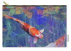 Koi Fish Pond Japanese Tea Garden  Carry-all Pouch