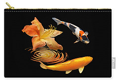 Koi With Azalea Ripples Carry-all Pouch
