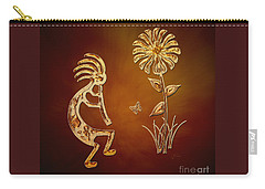Kokopelli - Flower Serenade Carry-all Pouch