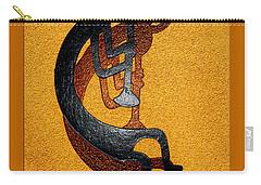 Kokopelli Golden Harvest Carry-all Pouch