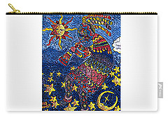 Kokopelli Mosaic Carry-all Pouch