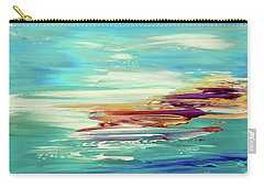 Carry-all Pouch featuring the painting Kokovoko by Tatiana Iliina