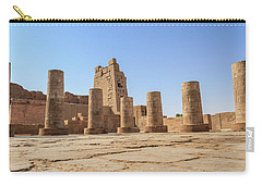 Carry-all Pouch featuring the photograph Kom Ombo by Silvia Bruno