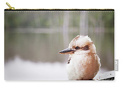 Carry-all Pouch featuring the photograph Kookaburra by Ivy Ho