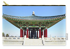 Korean Friendship Bell In Los Angeles Carry-all Pouch