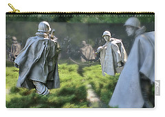 Korean Memorial Carry-all Pouch by Lorella Schoales