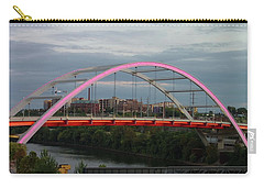 Korean Veterans Blvd Bridge Carry-all Pouch by Nick Kirby