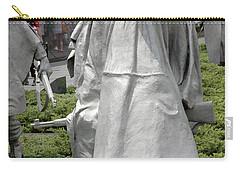 Korean War Memorial Carry-all Pouch by LeeAnn McLaneGoetz McLaneGoetzStudioLLCcom