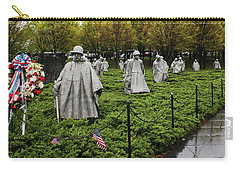 Korean War Veterans Memorial Carry-all Pouch