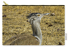Kori Bustard On The Serengeti Carry-all Pouch