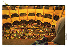 Carry-all Pouch featuring the photograph Kota Bahru Indoor Market by Travel Pics