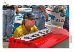 Kraig Johnson Driver Mechanic Raconteur Carry-all Pouch by Josh Williams