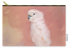 Kramer The Moluccan Cockatoo Carry-all Pouch by Theresa Tahara