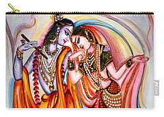 Krishna And Radha Carry-all Pouch by Harsh Malik
